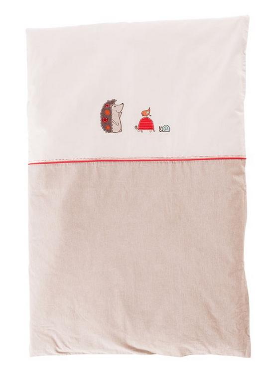 Idée cadeau pour une baby shower : une housse de couette pour fille ou garçon