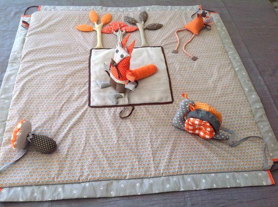 Un tapis d'ével sensoriel pour une baby shoxer