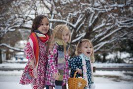 organiser una nniversaire d'enfant en hiver