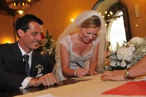 Déroulement d'un mariage civil